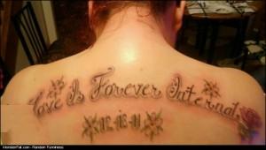 Tattoo FAIL  Love Is