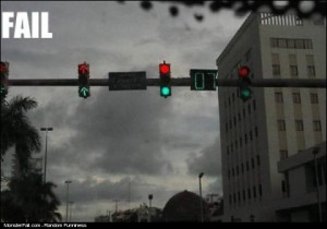 Traffic Light FAIL