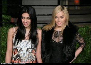 Madonna and her daughter They are very similar