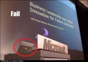 Windows FAIL