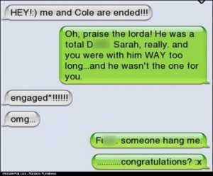 Text Message FAIL
