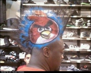 Monster Haircut WIN This Dude Is An Angry Bird