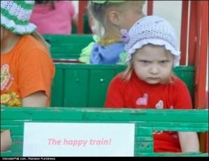 The Happy Train FAIL I Think Working