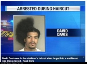 Monster Gangsta FAIL Arrested During Haircut
