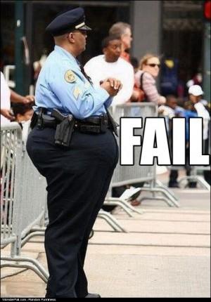 Policeman FAIL