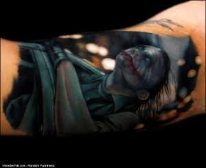 Realistic Tattoo WIN Why So Serious