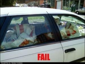 Burger Fan FAIL
