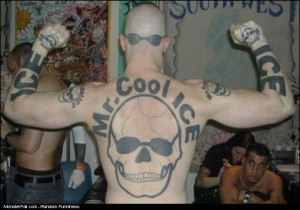 Monster Tattoo FAIL Let Me Introduce You To Mr Cool Ice