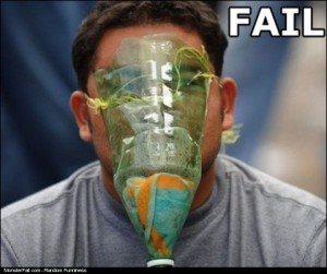 GAS Mask FAIL