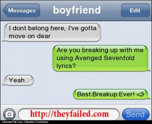 Best Break Up Ever