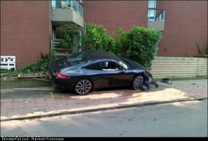 Fail garbage Porche