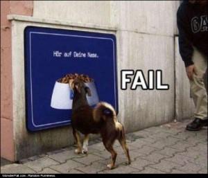 DOG FOOD FAIL