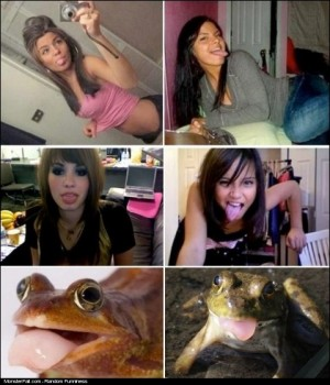 Monster Trying To Be HOT FAIL Frog Face Is The New Duck Face
