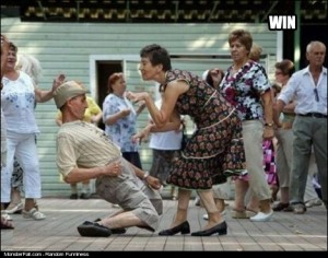 Party WIN Grandpa Dance