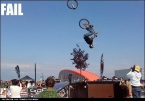 Biking FAIL