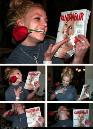 Funny Pics Posing With A Rose