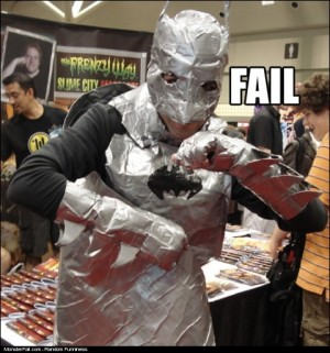 Superhero FAIL BatMan