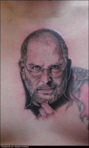 Steve Jobs Tattoo FAIL iRegret