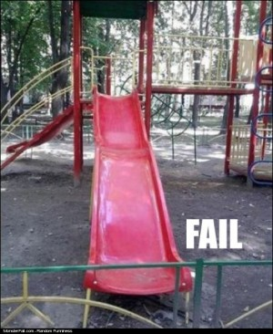Slide FAIL Fence