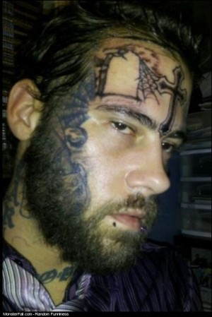 Monster Facial Tattoo FAIL What A