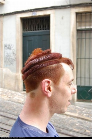 Monster Ginger Hairstyle FAIL Bro This Looks