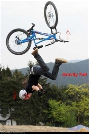 Gravity FAIL