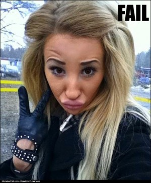 Another DuckFace FAIL
