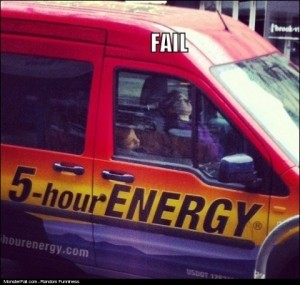 Using Your Energy FAIL