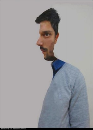 Monster TwoFaced Optical Illusion WIN