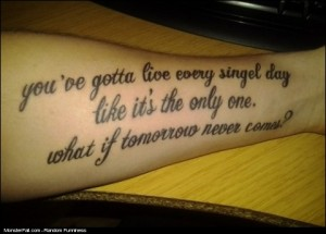 Tattoo FAIL Now Gotta Live With It