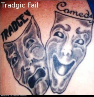Tattoo FAIL TRADGIC
