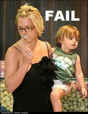Britney Mother Fail