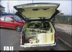 Paint Delivery FAIL