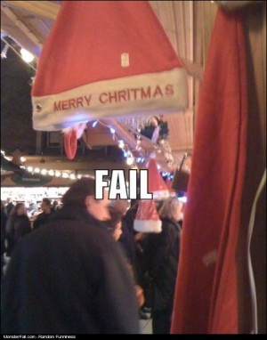 Merry Christmas FAIL