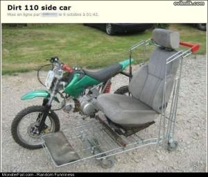 Funny Pics Dirt Side Car