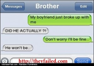 This is what every Brother should do