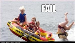 Boat Ride Fail