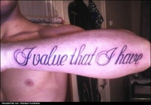 Tattoo FAIL Google Translate FAIL