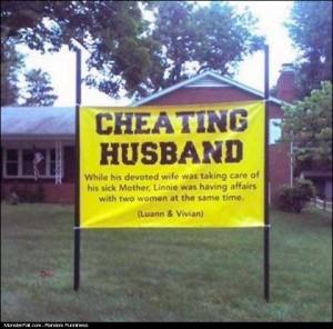 Cheating Husband Got
