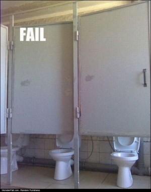 Public Restroom FAIL