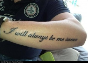 Monster Tattoo FAIL Always Be What