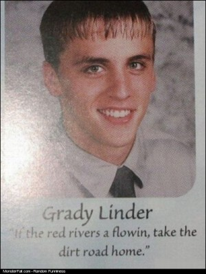Monster Yearbook Quote WIN Yeah I Know What You