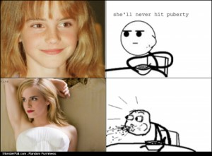 She Will Never Hit Puberty