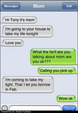 FAIL Why Parents Should Not Text