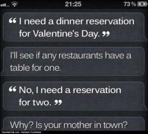 Siri WIN Dinner