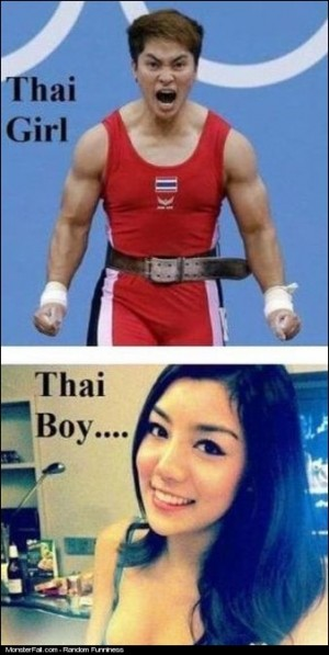 Thai Girls vs Thai Boys