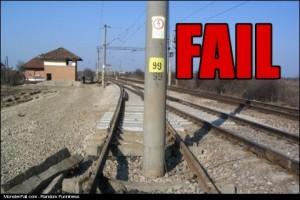 Train Track FAIL