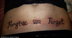 Monster Tattoo FAIL Leaving Room For Your Typo Was A Smart Choice