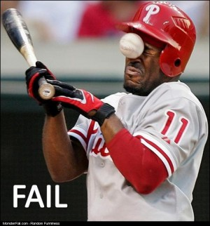 Baseball Player FAIL