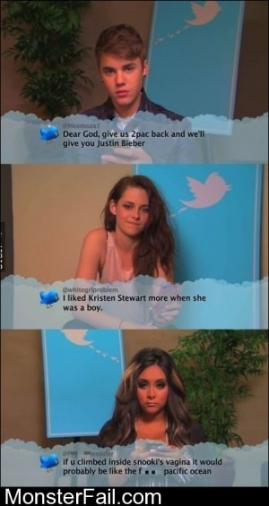 Celebs Read Mean Tweets About Them